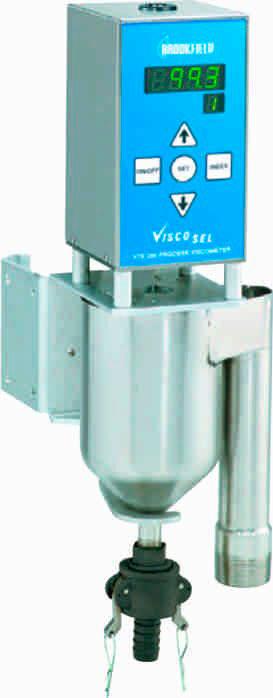 Medidor de viscosidade em linha