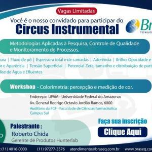 CIRCUS INSTRUMENTAL - BRASEQ E UFAM – MANAUS/ AM